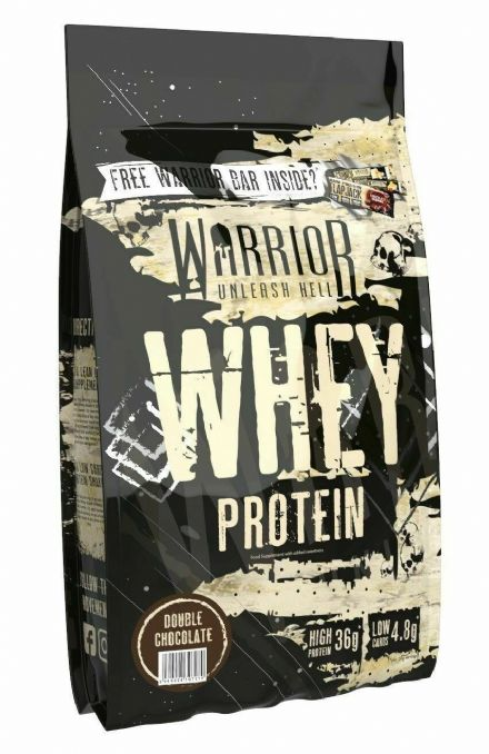 Warrior Whey Protein Powder 1kg; Low Sugar & Carb; All Flavours